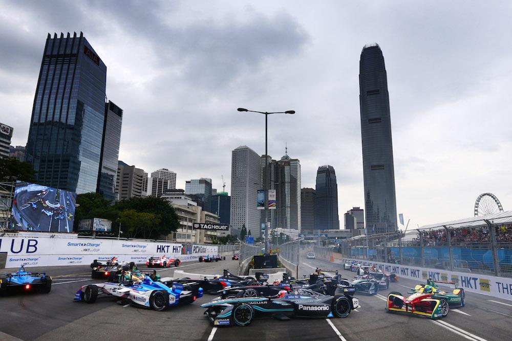 2016/2017 FIA Formula E Championship. Hong Kong ePrix, Hong Kong, China. Sunday 09 October 2016. Photo: Zak Mauger/LAT/Formula E ref: Digital Image _L0U2139