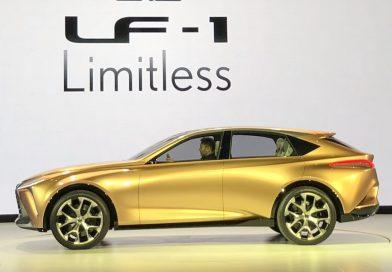 市販は案外近い? レクサスのフラッグシップ・クロスオーバー「LF-1 Limitless」